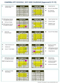 Pittsburgh Public School Calendar.Home Campbell City Schools