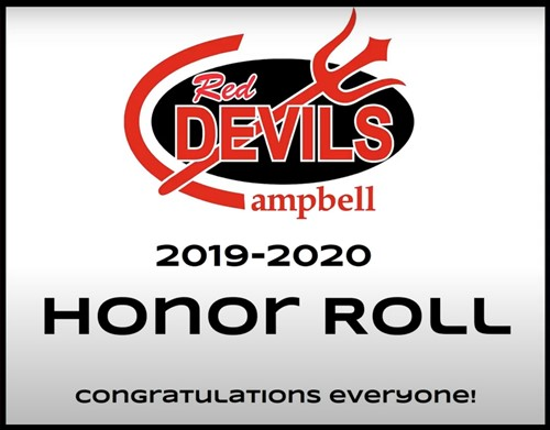 Campbell Elementary 19-20 Honor Roll