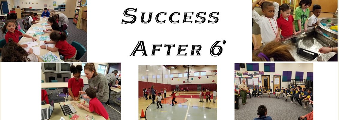 Kindergarten to 7th grade Success After 6 program.