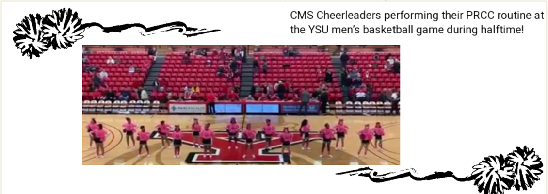 CMS Halftime Show at YSU's Basketball