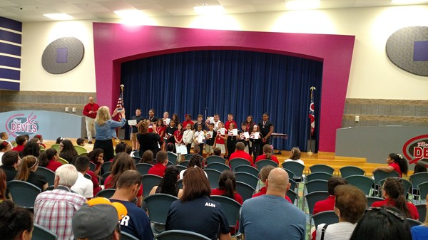 4th grade honor awards