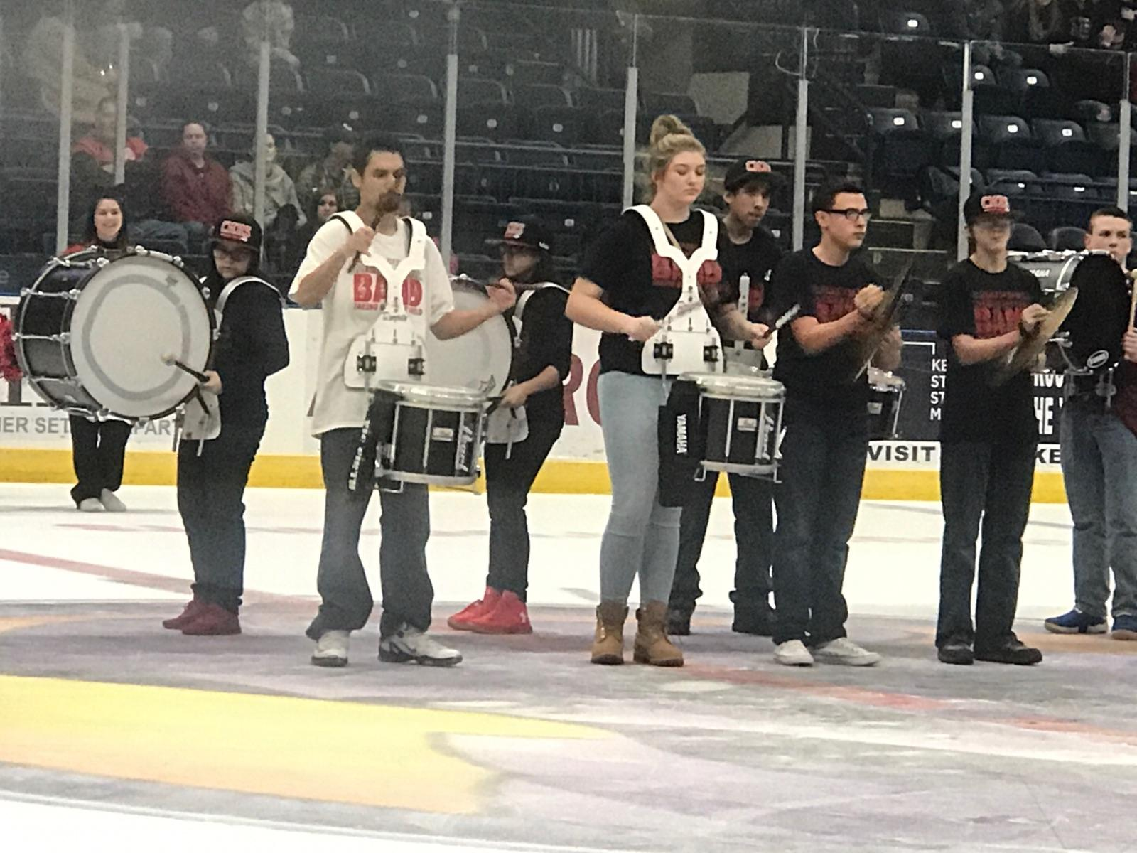 Campbell Drum Line