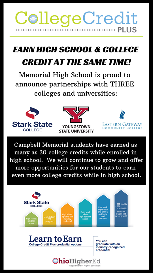 CMHS College Credit Plus