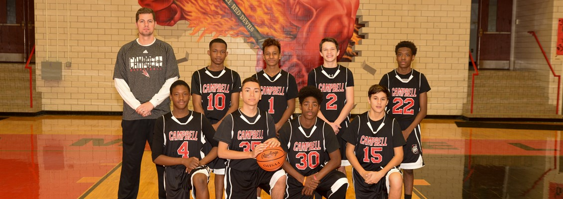 Boys Basketball JV Team