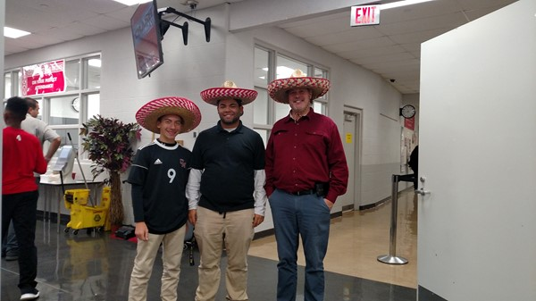 Red Ribbon week .... Hat day