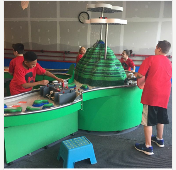 4th grade at the Carnegie Science Center