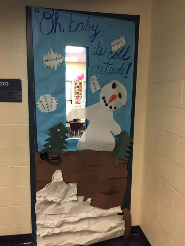 2nd annual Door Decorating contest.